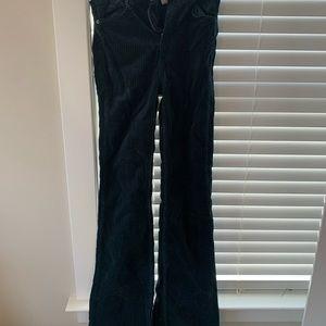 BDG cordoruy flare jeans